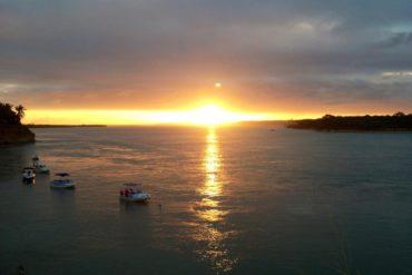 Sunset in Tibau do Sul