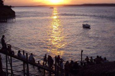 Por-do-Sol Lagoa em Tibau do Sul